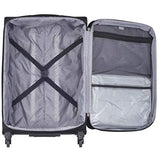 Delsey Sky Max 19 Spinner Carry On Black
