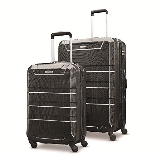 "Samsonite Invoke 2 Piece Nested Hardside Set (20""/28""), Black, Only at Amazon"