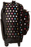 Everest Wheeled Backpack with Pattern, Polkadot, One Size