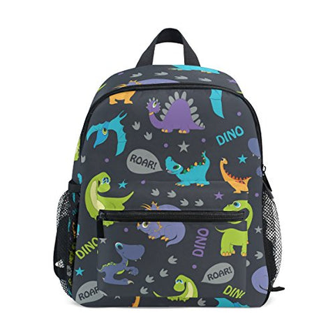 GIOVANIOR Dinosaurs Roaring Travel School Backpack for Boys Girls Kids