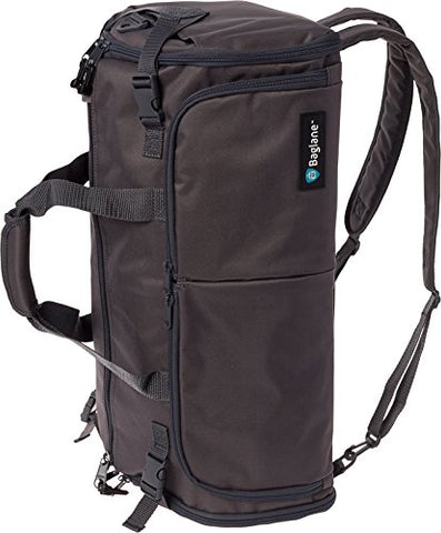 BagLane Hybrid Backpack Garment Bag - Travel Carry On Suit Bag (Charcoal)