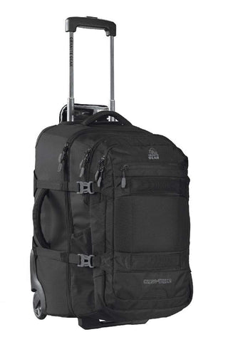 Granite Gear Cross Trek 2 Wheeled Carry-On with 28L Removeable Backpack - Black/Flint 22""