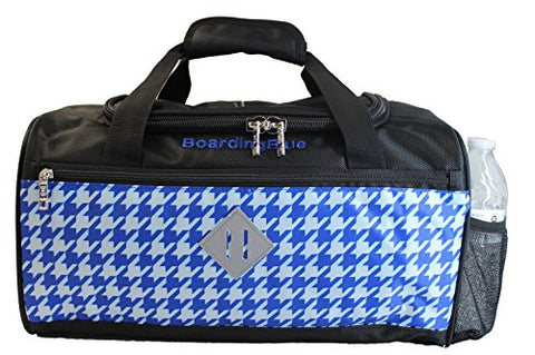"Boardingblue United Airlines 17"" Personal Item For Under Seat (Blue)"