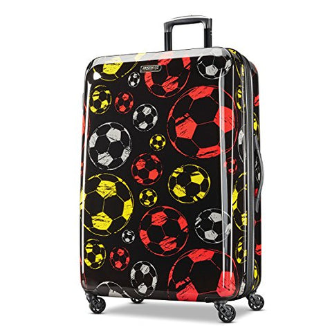 American Tourister Moonlight Spinner 28, Red/Yellow
