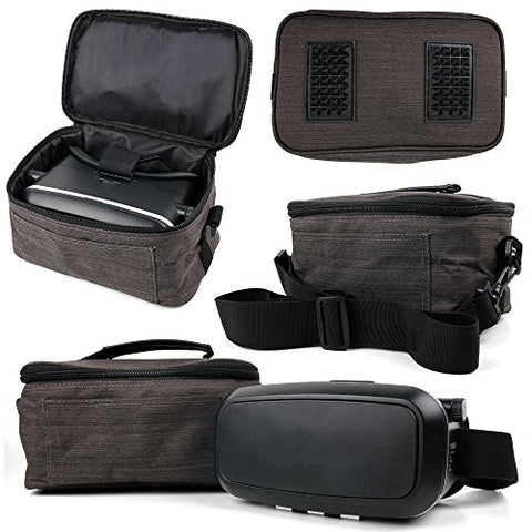 Canvas Carry Case / Store Bag with Shoulder Strap for the Propel Star Wars T-65 X-Wing Starfighter - by DURAGADGET