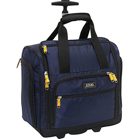 "Lucas Wheeled Underseat Cabin Bag 16"" (Blue)"