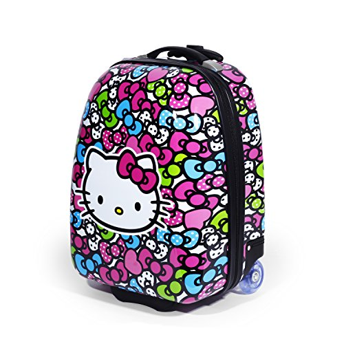Shop Hello Kitty Rainbow Bows Hard Abs Pilot Case Luggage Luggage Factory