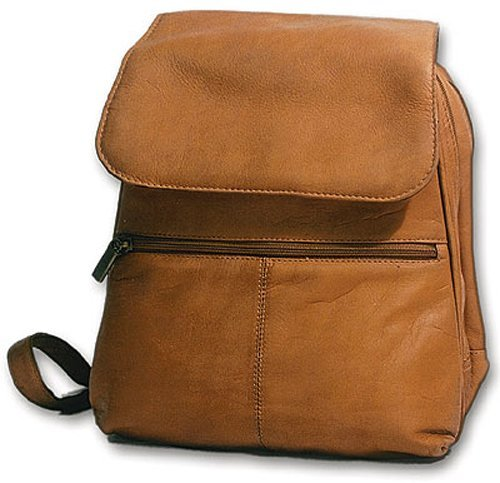 David King & Co. Women's Organizer Backpack, Tan, One Size