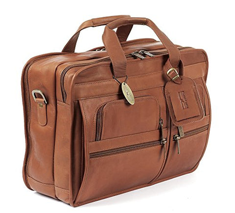 Claire Chase Executive Computer Brief, Saddle, One Size
