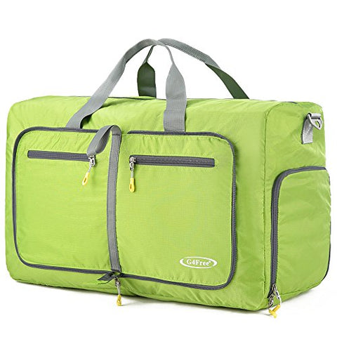 G4Free 60L Large Travel Duffel Bag Lightweight Foldable Sports Duffels Travel Duffels Luggage