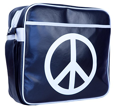 "Urban Factory Peace & Love Bag Notebook Carrying Case, 12"" (Pal03Uf)"