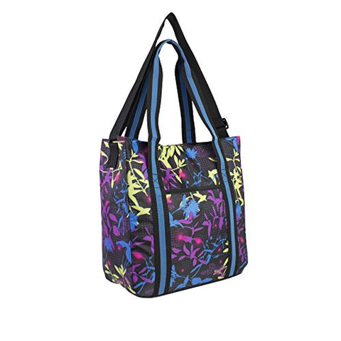 FUEL Multipurpose Tote with Crossbody Strap, Butterflies and Flowers