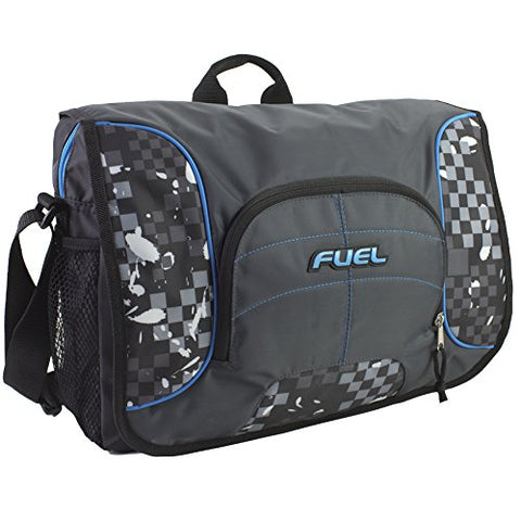 Fuel Tech Padded Messenger, Warped Blocks