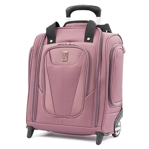 "Travelpro Luggage Maxlite 5 15"" Lightweight Carry-on Rolling Under Seat Bag, Dusty Rose"