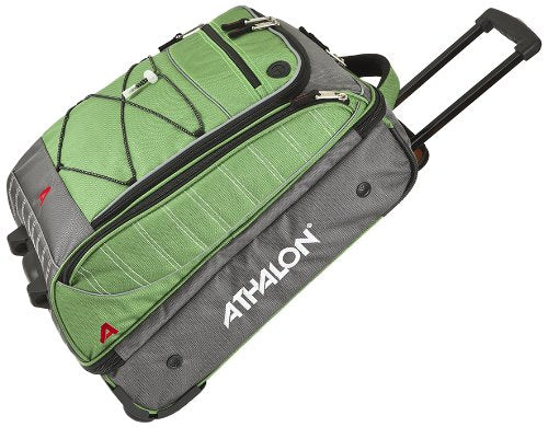 Athalon Luggage The Glider-21 Inch Wheeling Carry-On, Grass Green, One Size