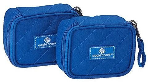 Eagle Creek Pack-it Original Quilted Mini Cube(xs) 2pc Set, Blue Sea