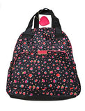 Betsey Johnson Women'S Backpack, Black/Multi Floral