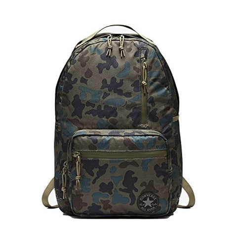 Converse Poly Go Backpack (Medium Olive (10004801-363) / Camo, One Size)