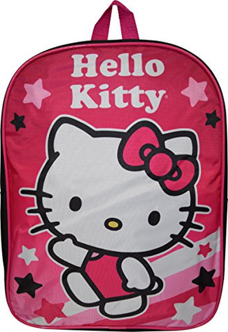 "Hello Kitty 15"" School Bag Backpack"