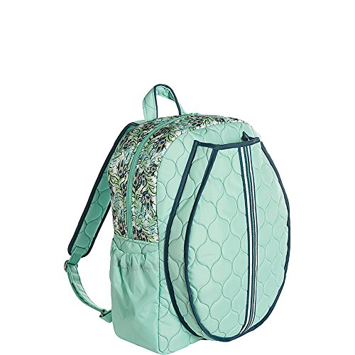Cinda B. Tennis Backpack, Purely Peacock