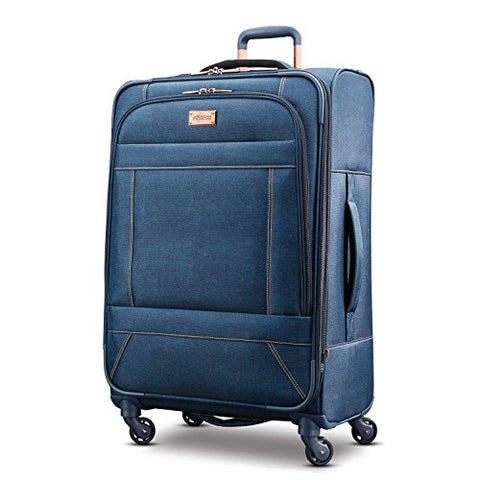 American Tourister Belle Voyage Spinner 28, Blue Denim