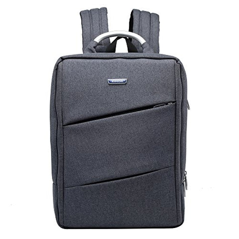 Bison Denim Water Resistant Office Backpack Travel Business Bag College School Laptop Backpacks