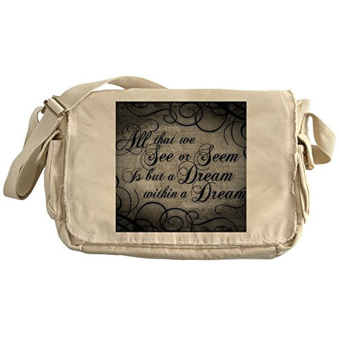 Cafepress - Dream-Within-A Dream_13-5X18 - Unique Messenger Bag, Canvas Courier Bag