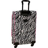 American Flyer Animal Print 5 Piece Spinner Luggage (Giraffe Green)