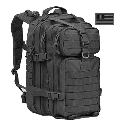 Military Tactical Backpack, Assault Pack Army Molle Bug Out Bag Backpacks Rucksack Daypack W/ Us