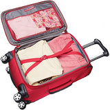 "Travelpro Nuance 21"" Expanable Carry-On Spinner Luggage - CLOSEOUT (Red)"