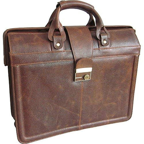 AmeriLeather APC Legal Leather Executive Brief (Waxy Brown)