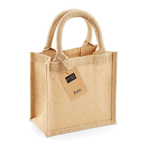 Westford Mill Jute Petite Gift Bag - Natural
