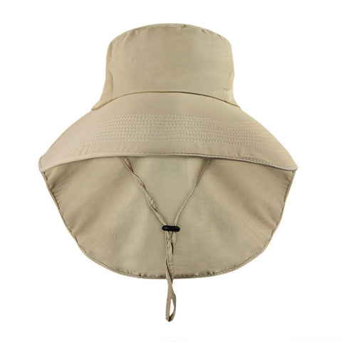Summer Flap Cover Cap Floppy Sun Hat Bucket Hat Anti-UV Sun Shade Hat With Bow Packable Wide Brim UPF 50+ Travel Fishing Bowknot Sunhat