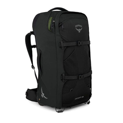 Osprey Packs Farpoint 65 Men's Wheeled Luggage, Black