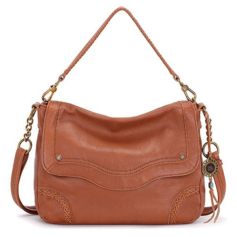 The Sak Women's Tahoe Messenger Cognac Messenger Bag