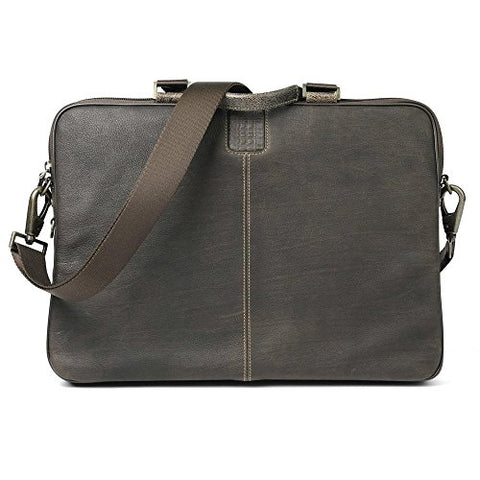Boconi Bags and Leather Hendrix - Sleeve Brief Laptop Bag Brown Leather