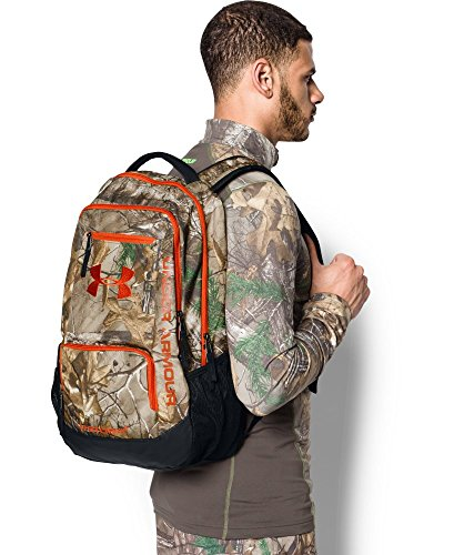 under armour camo hustle backpack