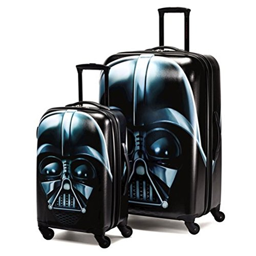 American Tourister Star Wars 2 Piece Set 21 & 28 Hardside Spinner (One Size, Star Wars Darth Vader)