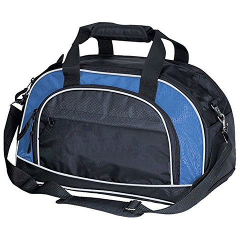 "Goodhope Bags The Workout Sports Travel Duffel, 17.5"" L, Blue"