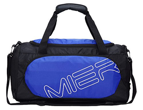 717dac86f2ce MIER Small Gym Sports Bag for Men and Women with Shoes Compartment