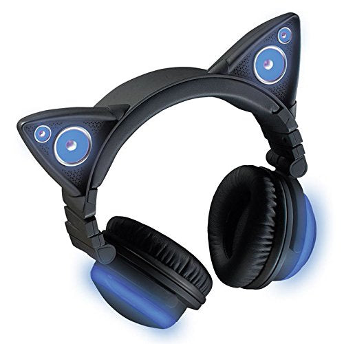 Wireless Cat Ear Headphones (Color Changing)