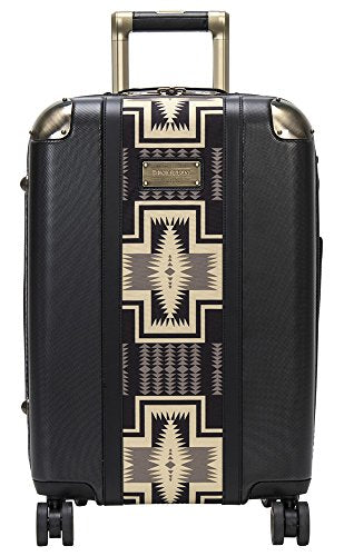 "Pendleton Harding 20"" Polycarbonate Spinner Carry On - Black"
