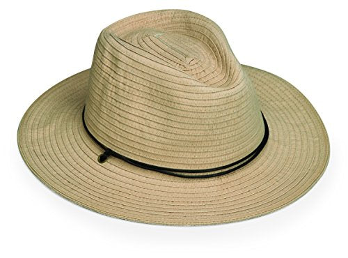 Wallaroo Men'S Jasper Sun Hat - Upf 50+ - Internally Adjustable, Beige M/L
