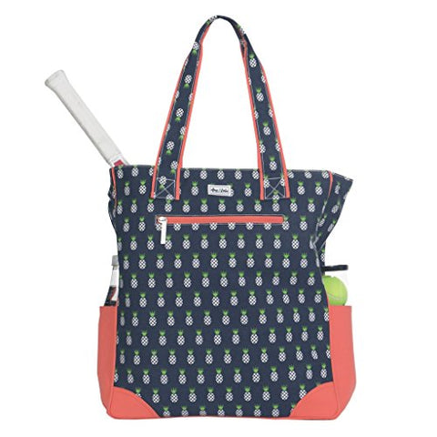 Ame & Lulu Emerson Tennis Tote (Pineapple)