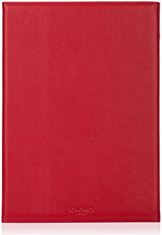 Knomo Ipad Air 2 Premium Folio Leather/Plastic Case, Scarlet, 14-094-Sct (Leather/Plastic Case,