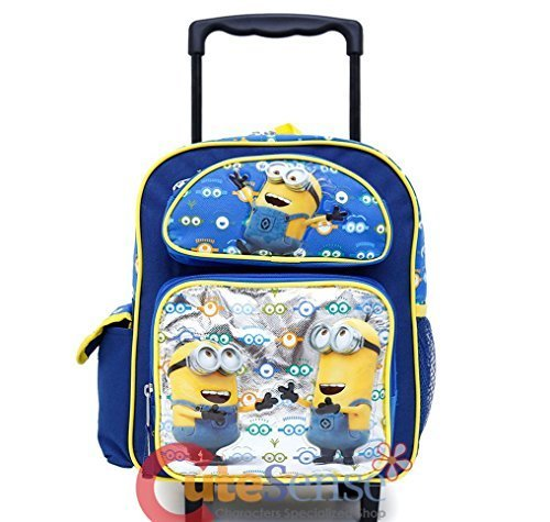 Despicable Me Minions Look At You 16 Inches Rolling Backpack-36516