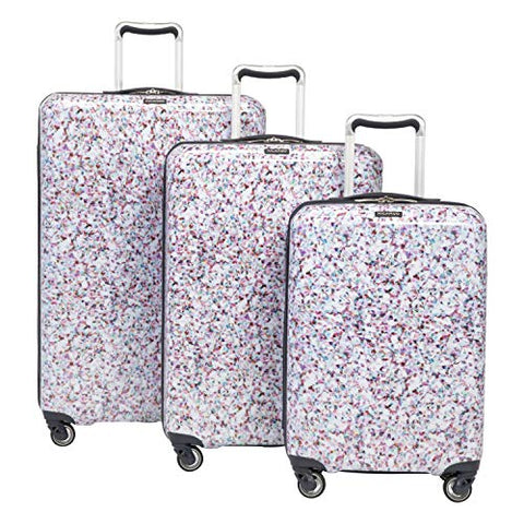 Ricardo Beaumont 3-Piece Luggage Set Confetti with FREE Travel Kit