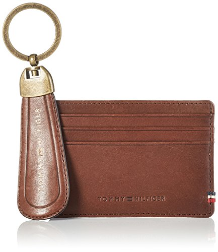 Tommy Hilfiger Mens Ho Th Burnished Cc Holder Shoe Horn Purse Multicolour (Testa Di Moro)