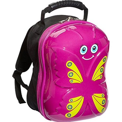 Trendykid Bella Butterfly Backpack (Pink/Yellow)