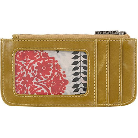 Shiraleah Harper Card Case, Mustard
